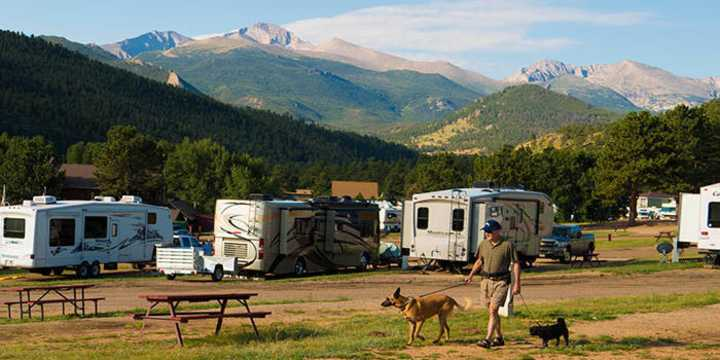 Estes Park Campgrounds Amp Rv Parks Places To Stay In