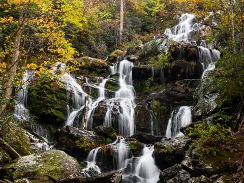 Compose Waterfall Pictures with More Space