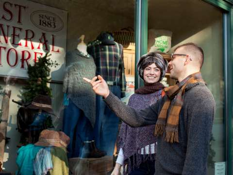 Holiday Shopping Hot Spots in Asheville