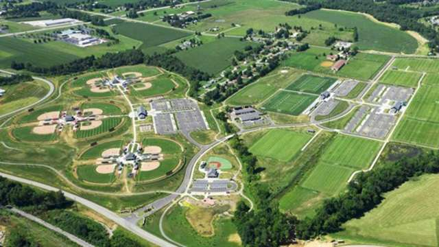 Sports Park Aerial