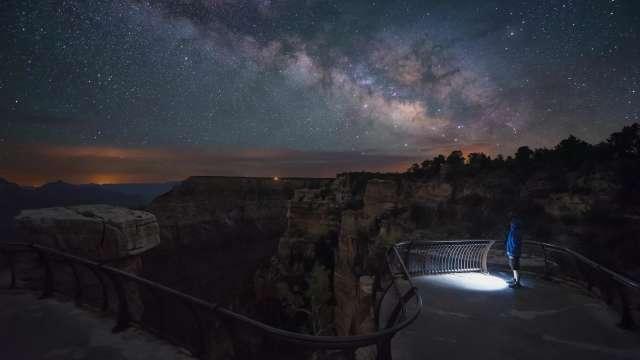 Grand Canyon Milky Way