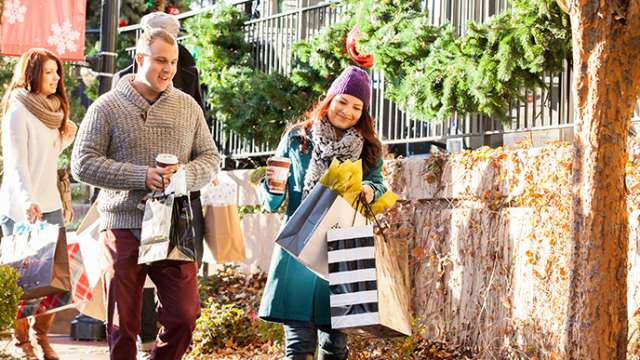 Holiday Shopping Bradley Fair