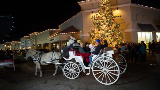Holiday Carriage Ride in Wichita