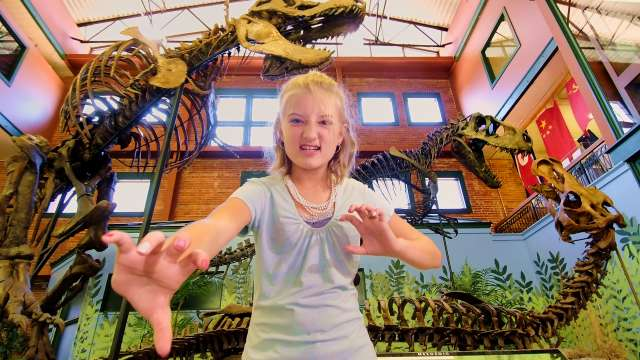 Museum of World Treasures T Rex Girl