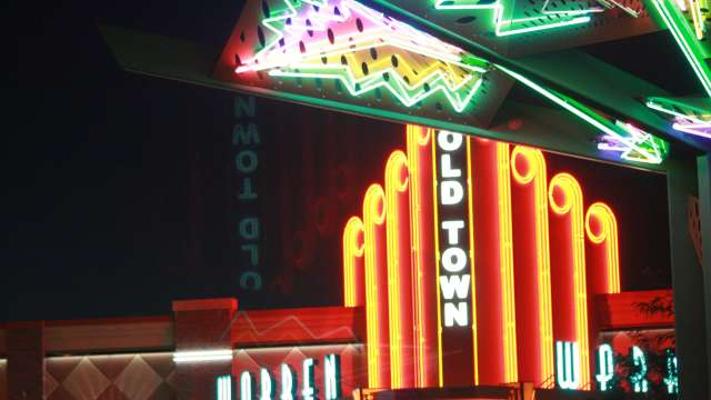 Old Town Plaza Neon