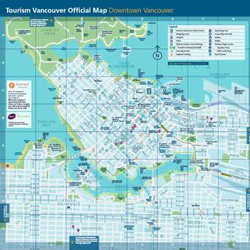 Map Of Vancouver Canada Maps & Guides | Plan Your Trip