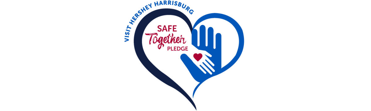 Visit Hershey Harrisburg Safe Together Pledge Logo