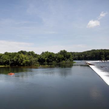 Landscape of Savannah River