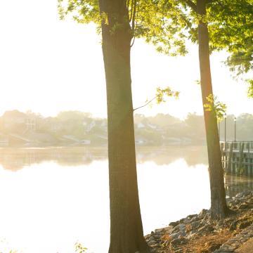 riverwalk; outdoors