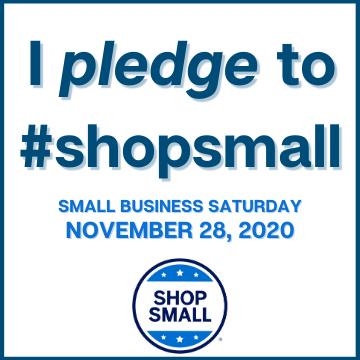 2020 Shop Small Pledge