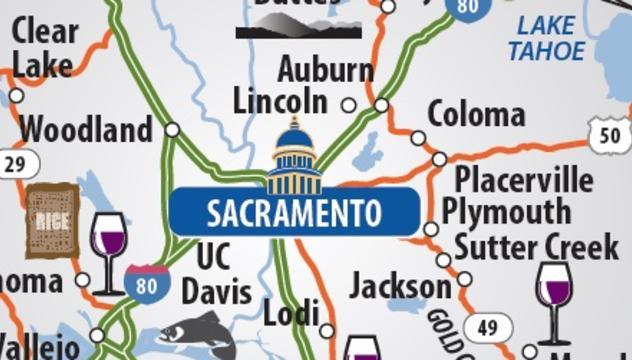 Maps Visit Sacramento
