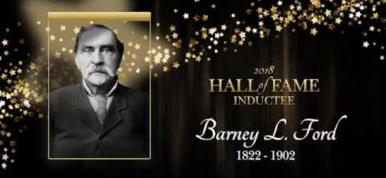 2018 Hall of Fame Induction Ceremony - Barney Ford