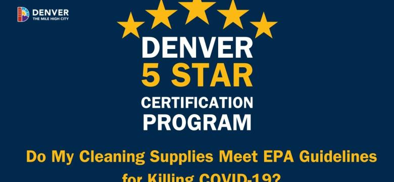 Do My Cleaning Supplies Meet EPA Guidelines for Killing COVID-19?