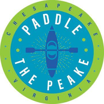 Paddle the Peake Logo