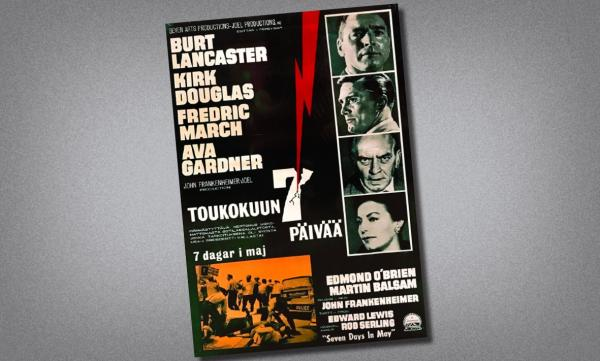 Seven Days in May Scandinavian Poster