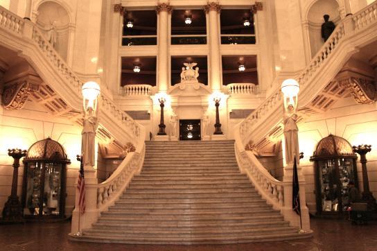 Pa Capitol Tour Feeds Visitors Senses