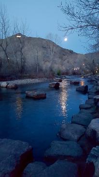Clear Creek at Night