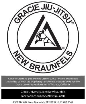 Gracie Jiu-Jitsu New Braunfels LLC Logo