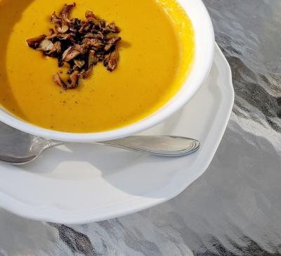 Butternut Squash Soup with Nine Pin Cider