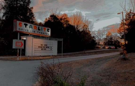 Entrance of Starlite Drive-In