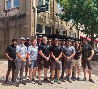 the Cadence Cyclery team