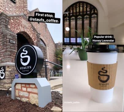 Stauf's Coffee's new Victorian Village location in Columbus.