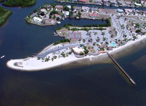 Aerial Shot of Port Charlotte Beach Park Complex