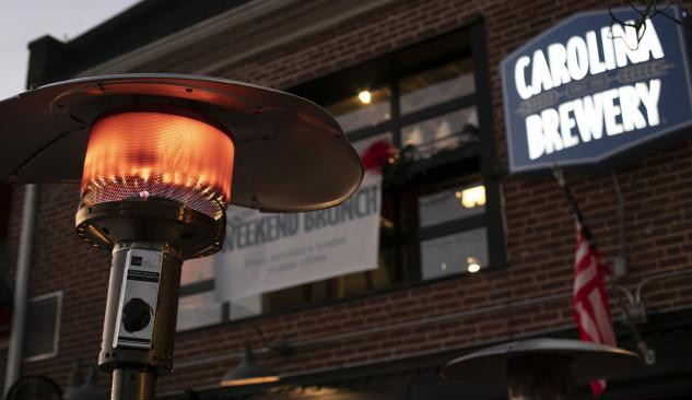 Copy of Carolina Brewery Patio with Heaters