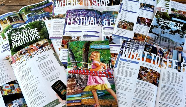 Copy of select pages of 2019 Visitors Guide