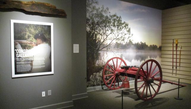 Interior of Museum Red Canon