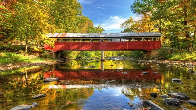 3rd Place - Rusty Glessner, Lower Humbert Bridge, Somerset County