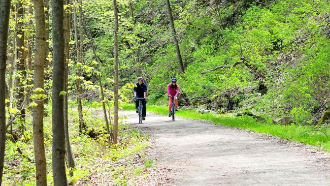 Bike the Great Allegheny Passage