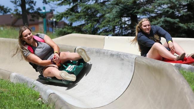 Alpine Slide at Seven Springs
