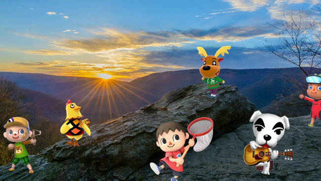 Animal Crossing in the Laurel Highlands