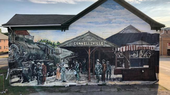 Connellsville Murals by Jeremy Raymer