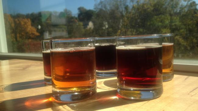 AS Beer Flight