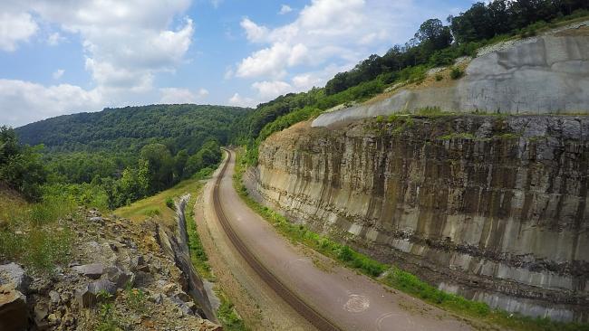 Pinkerton Cliffs Great Allegheny Passage
