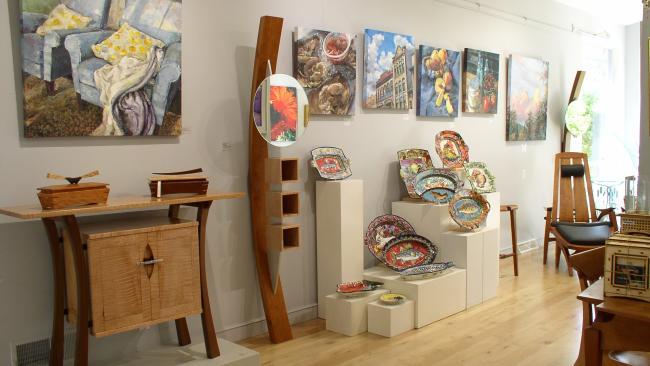 Main Exhibit Gallery and Art Center