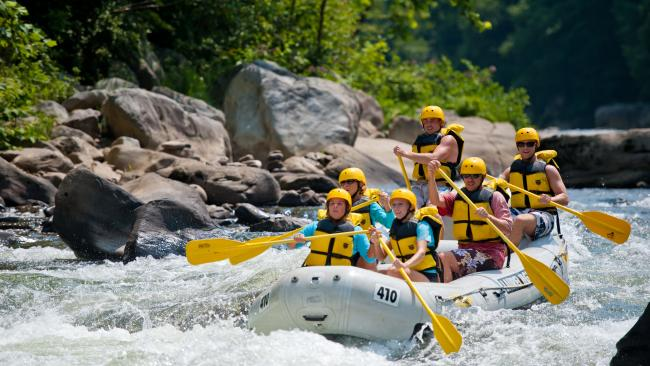 Whitewater Rafting Ohiopyle