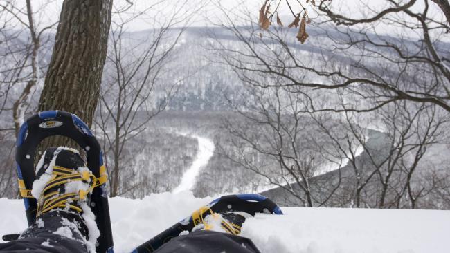 Snowshoeing, Laurel Highlands Hiking Trail