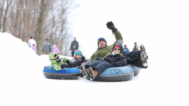 Hidden Valley Snow Tubing
