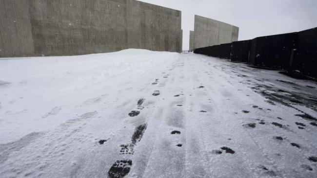 Flight 93 National Memorial - Winter
