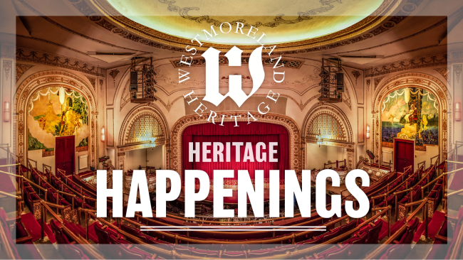 Heritage Happenings Podcast Logo