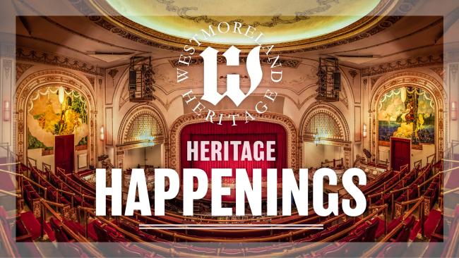 Heritage Happenings Podcast Logo
