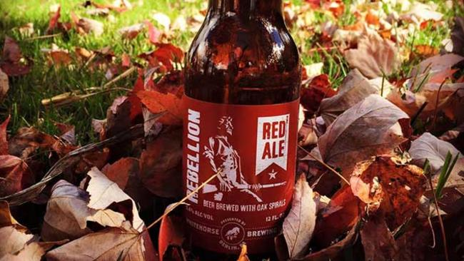 Whitehorse Brewing Rebellion Red