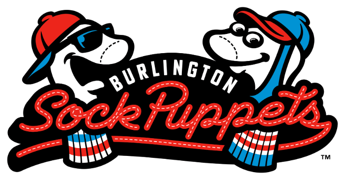 Burlington baseball logo