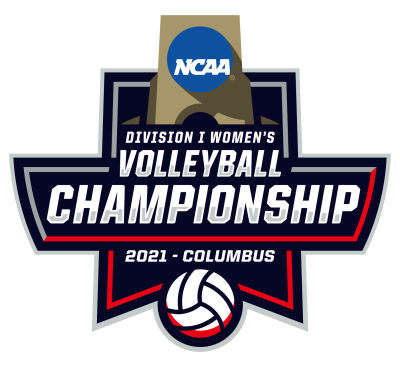2021 NCAA Volleyball Full Color Logo