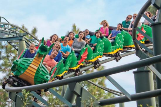 Dragon Coaster at LEGOLAND California