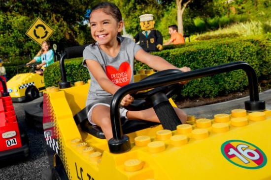 Fun Town Driving School at LEGOLAND California