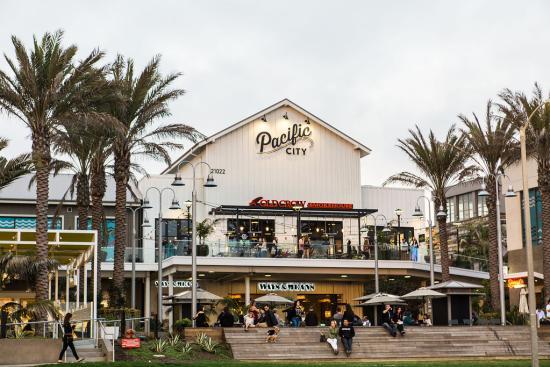 Pacific City in Huntington Beach